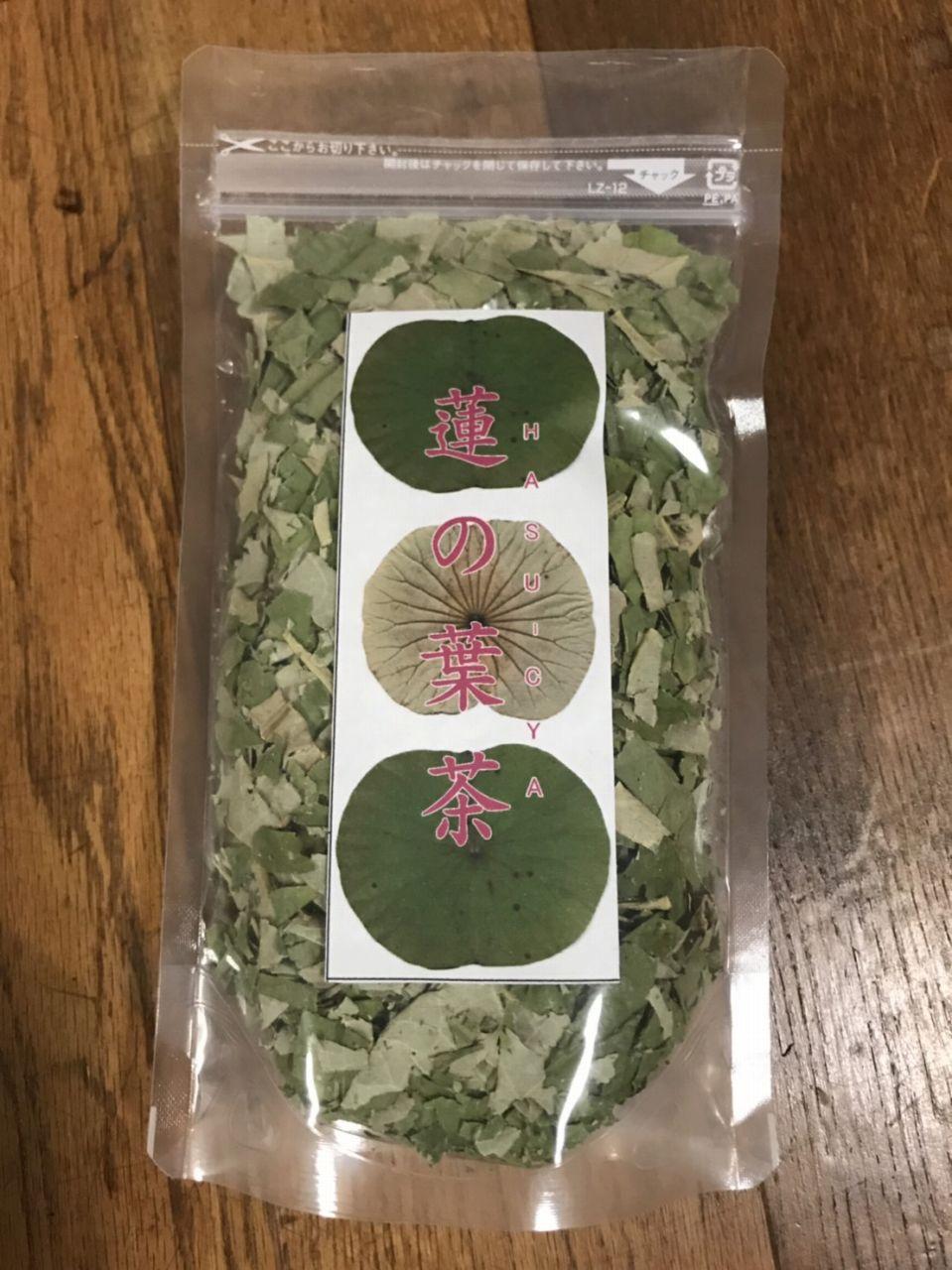 蓮の葉茶(発酵後天日干し)